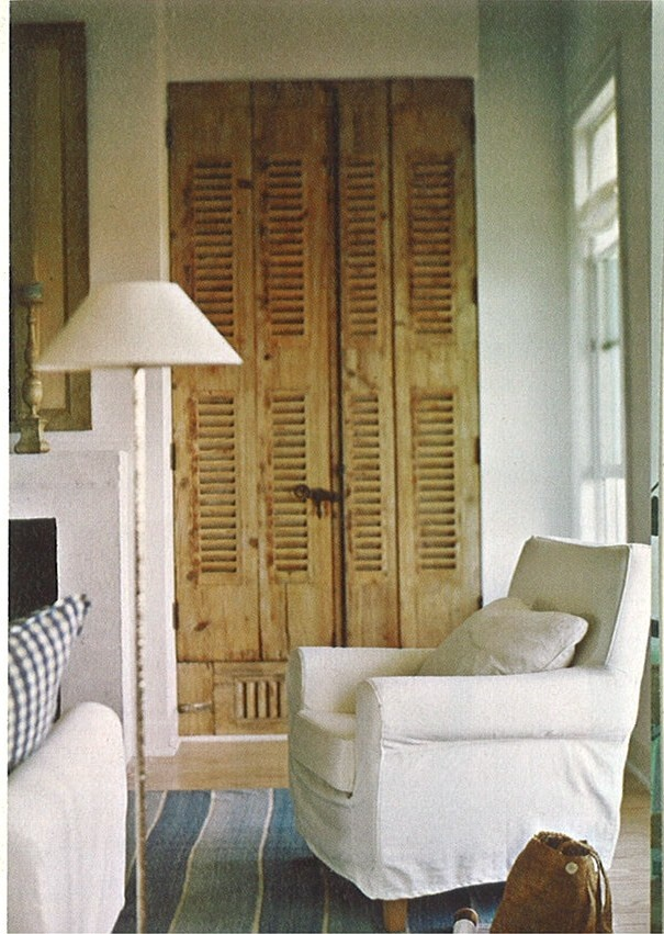 Old Shutters For Closet Doors.
