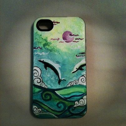 dolphin Iphone case