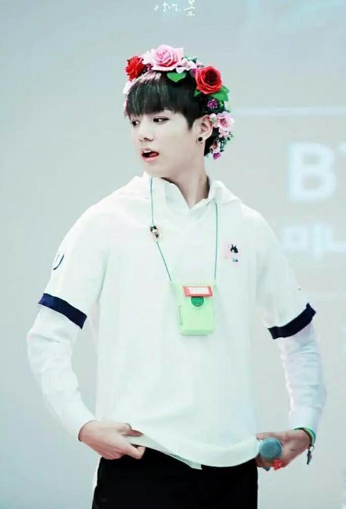 Minamjoon On Flower Crowns Flower And Love
