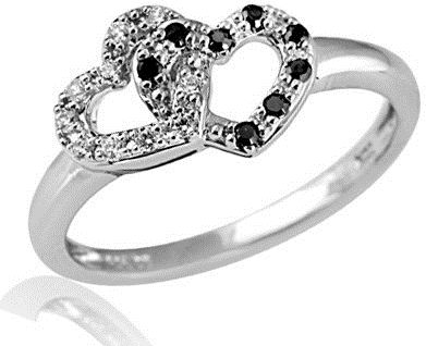 #zales.com                #ring                     #T.W. #Enhanced #Black #White #Diamond #Double #Heart #Promise #Ring #Sterling #Silver #View #Rings #Zales                        1/6 CT. T.W. Enhanced Black and White Diamond Double Heart Promise Ring in Sterling Silver - View All Rings - Zales                                         http://www.seapai.com/product.aspx?PID=1112918