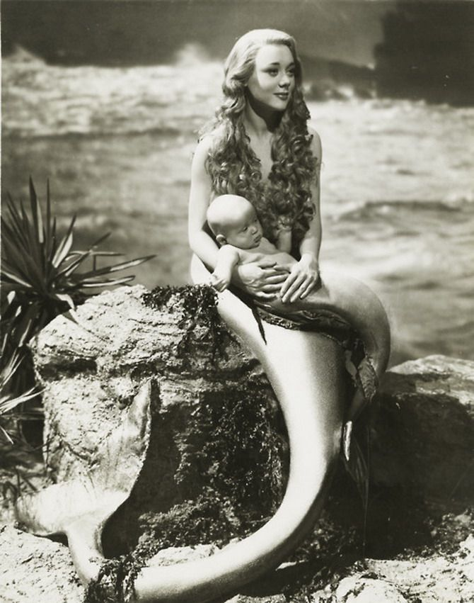 The little kid in me that watched The Little Mermaid until the VHS broke loves the idea of little mer-babies