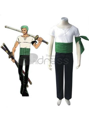 One Piece Roronoa Zoro Cosplay Costumes.