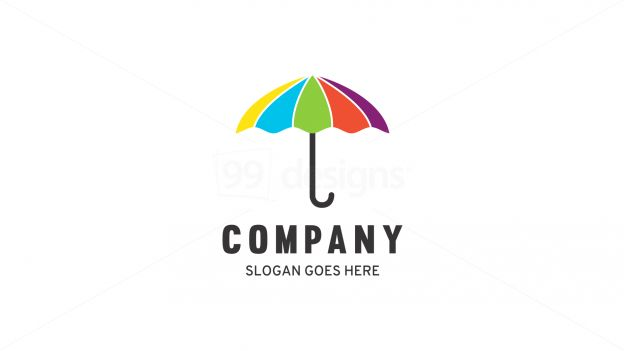 umbrella on 99designs Logo Store