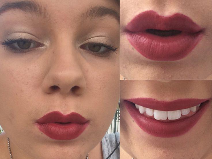 Maybelline creamy matte lipstick in Divine Wine