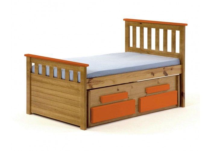 http://www.bonsoni.com/captains-short-bergamo-guest-bed-3ft-antique-with-orange-details   Matching furniture (wardrobes, bedsides, chest of drawers, dressing table, stools, shelves, storage units, mirrors and lighting) is available.   http://www.bonsoni.com/captains-short-bergamo-guest-bed-3ft-antique-with-orange-details