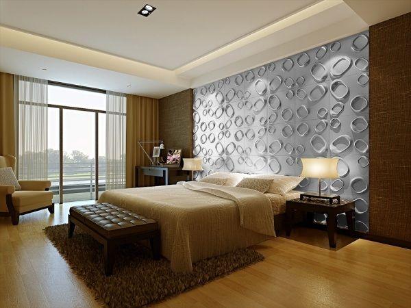 1000 id es sur le th me 3d wall panels sur pinterest panneaux muraux lambr - Panneau mural chambre ...