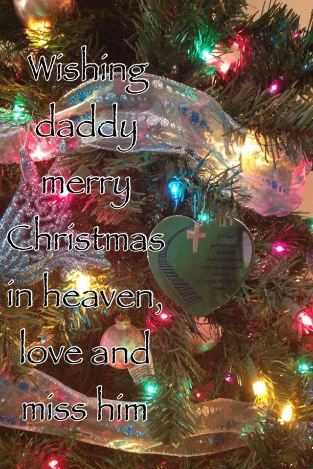 Merry Christmas Dad In Heaven Poems Nemetasaufgegabeltinfo