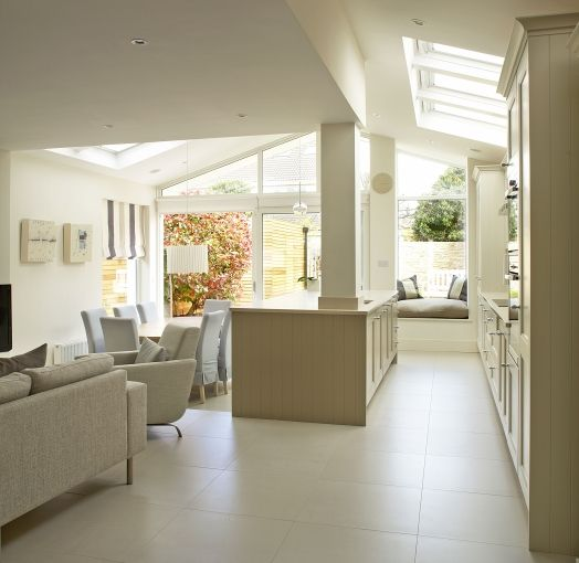 Like the large format neutral tiles