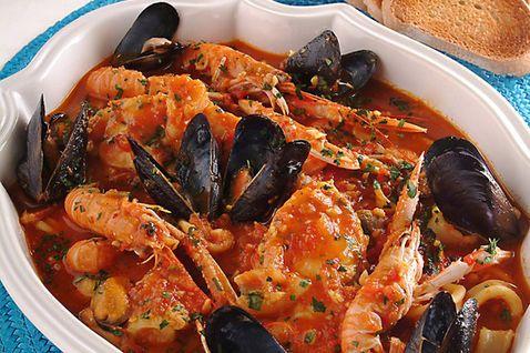 Brodetto di San Benedetto del Tronto, a fish stew originating from Marche. #discovermarche