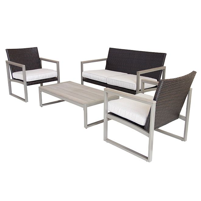 Rona Carries Patio Outdoor Furniture For Your Renovation Decorating Projects Find The Right Conversation Sets To Help Home