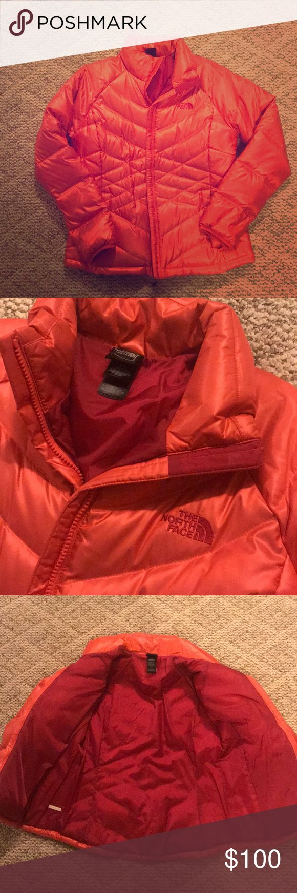 Women's North Face Winter Coat Women's North Face Aconcagua Jacket Size: Large Worn 3-4 times, no signs of wear at all! Color:  Rambutan Pink The North Face Jackets & Coats Puffers