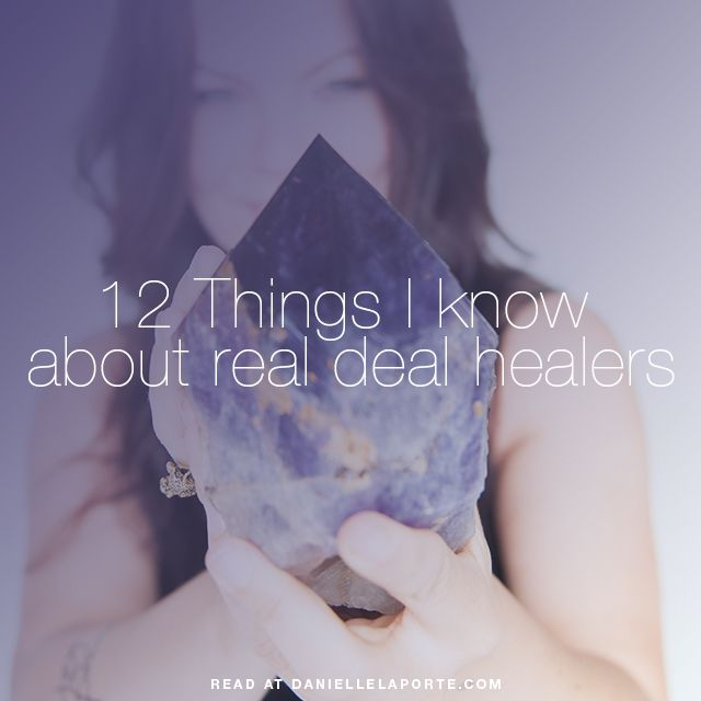 Real Deal about healers