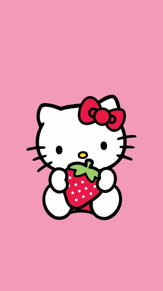 Pin By Shimon Elgin On Hello Kitty Hello Kitty Backgrounds Hello Kitty Wallpaper Hd Hello Kitty Images