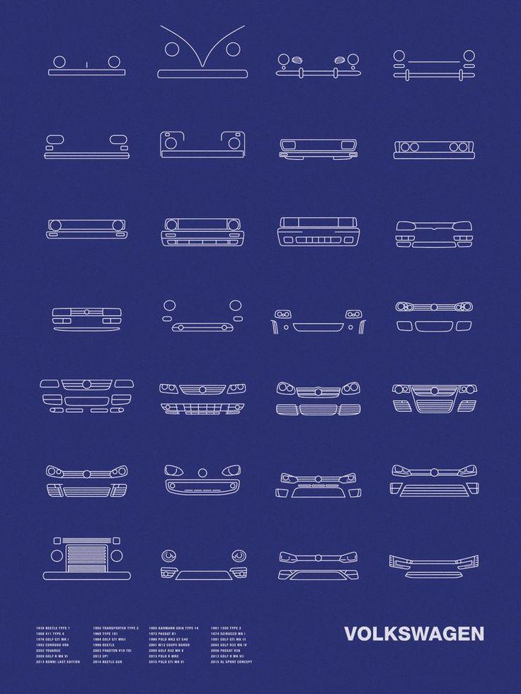 Auto Icon Screen Print Series: Volkswagen Mais