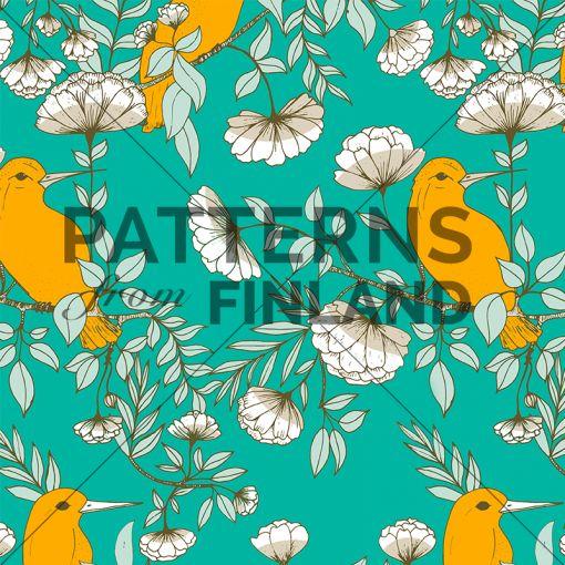 Taiga – Tree by Noora Hattunen  #patternsfromagency #patternsfromfinland #pattern #patterndesign #surfacedesign #printdesign #noorahattunen