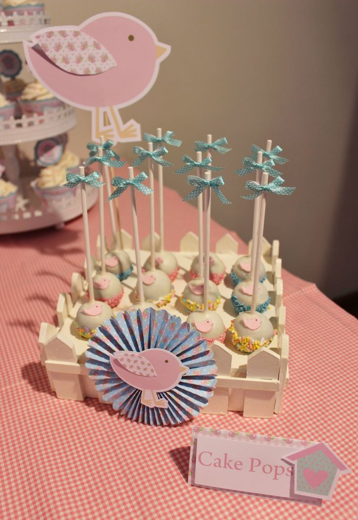 Birds Cake Pops by Violeta Glace