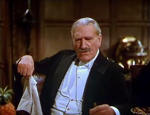 "General Burroughs (C. Aubrey Smith) from the 1939 version of ""The Four Feathers"", aka Commander McBragg."