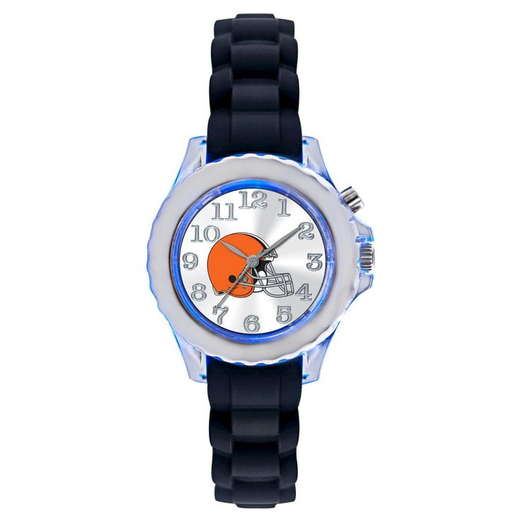 Men's NFL Game Time Cleveland Browns Flash Series Watch - Black