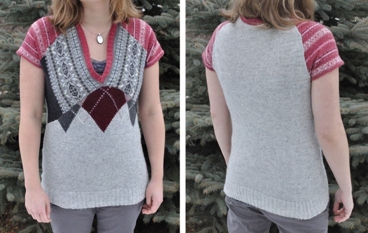 Sweater Recon Tutorial  Or, how I recycled three sweaters into one without using a patternT Shirts Refashion, Sweaters Refashion, Sweater Refashion, Diy Refashion