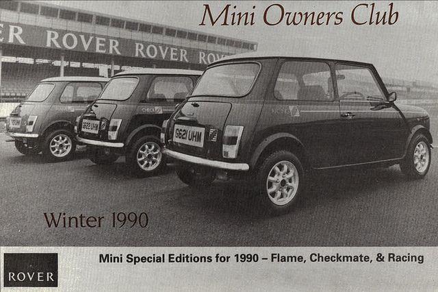 MINI Special Edition in 90's
