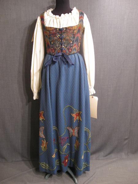 jewelry online store 09029554 09000716 Womens Renaissance Outfit blue B36 W28 jpg