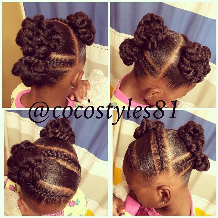 This Week S Quick Simple Protective Style We Did Before Bed Last Night Braid Natural Hairstyles For Kids Kids Hairstyles Kids Braided Hairstyles