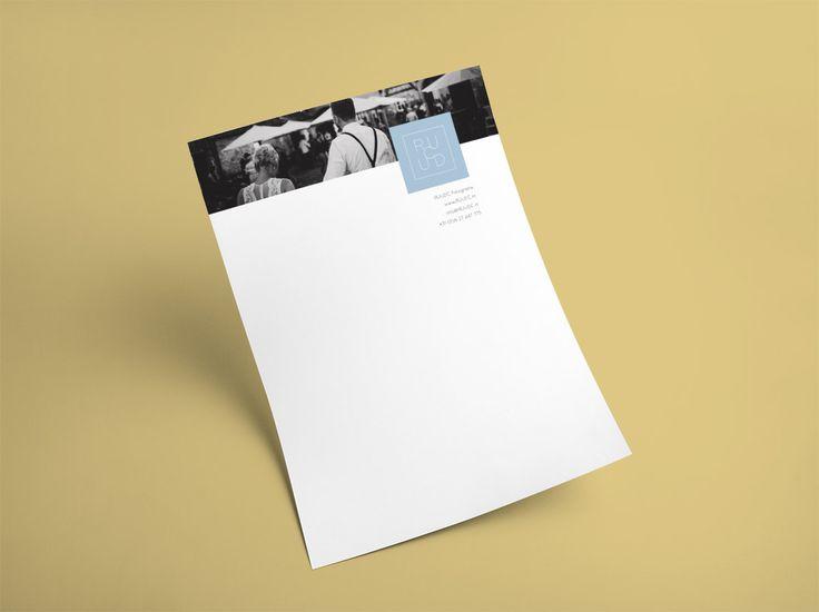 letterhead design #briefpapier #fotograaf #design #huisstijl Studio OCHER