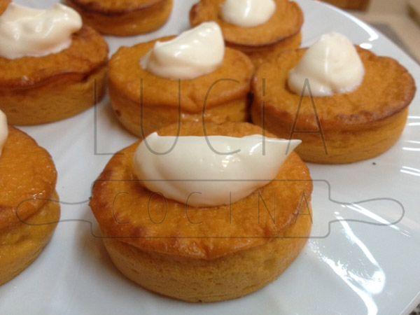 Pudding suave de pimientos del piquillo http://luciacocinabogota.blogspot.com/2014/06/evento-comida-celebracion-familiar.html