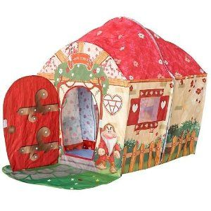 Playhut Snow White - Cottage Play Tent: Play Tents, White Cottage, Stuff, Cottage Play, Plays, Cottages, Kid, Snow White, Playhut Snow