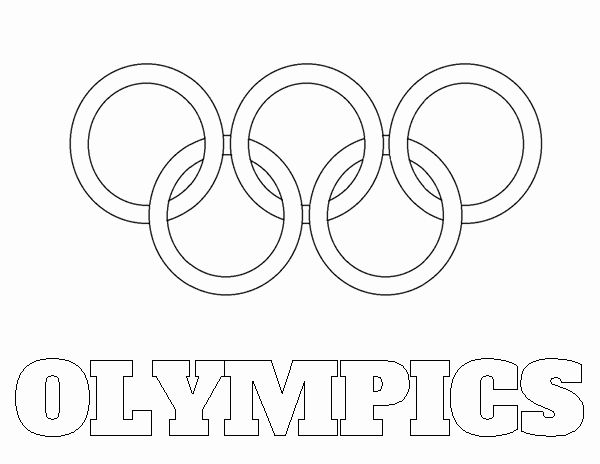 32 Olympic Rings Coloring Page In 2020 Olympic Rings Coloring