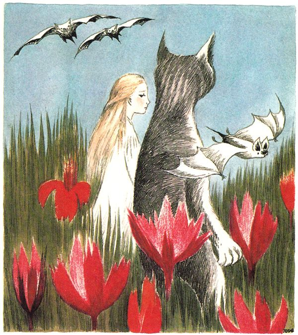 Tove Jansson's Rare Vintage Illustrations for Alice in Wonderland | Brain Pickings