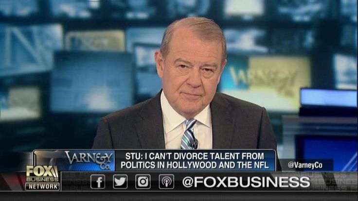 11/16/17 - On Fox Business Network today, Stuart Varney said he's one of many Americans who are sick and tired of NFL players insulting what the United States stands for.