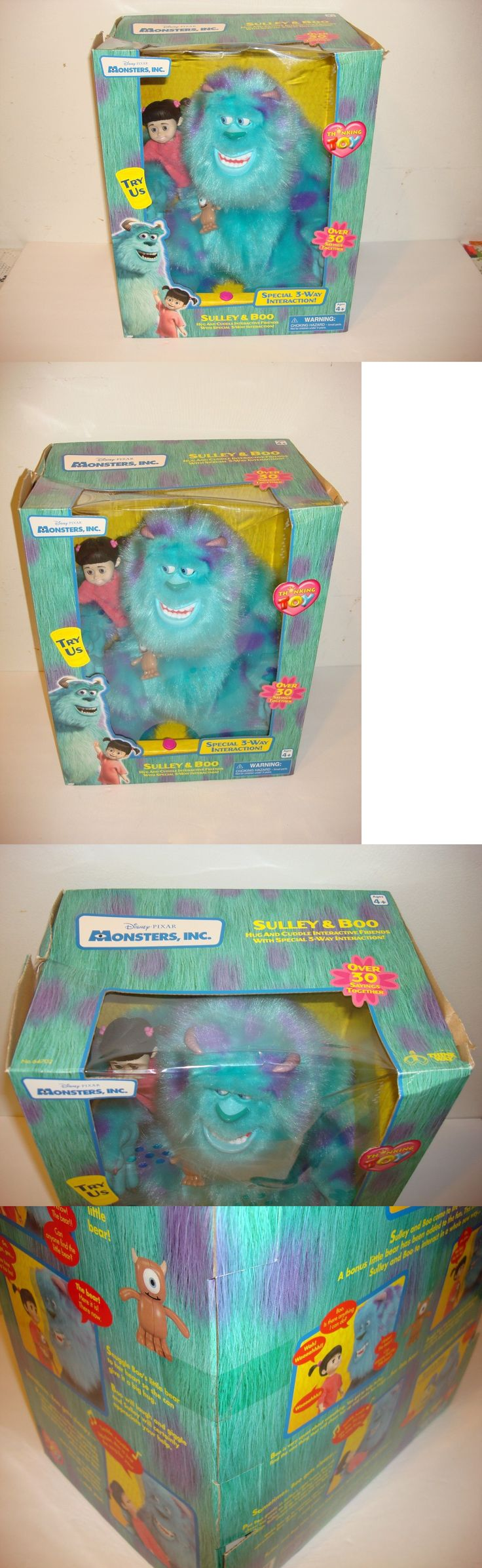 Monsters Inc 44038: New Sealed Thinkway Toys Disney S Monsters Inc, Sulley And Boo 2001 -> BUY IT NOW ONLY: $94.99 on eBay!