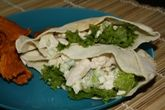 Low Calorie Chicken Salad Recipe in  Pita Bread: Low Calorie Chicken Salad Recipe in a Pita