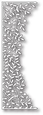 Poppystamps / Memory Box Leafy Sprig Border Die 1002 - 123Stitch.com