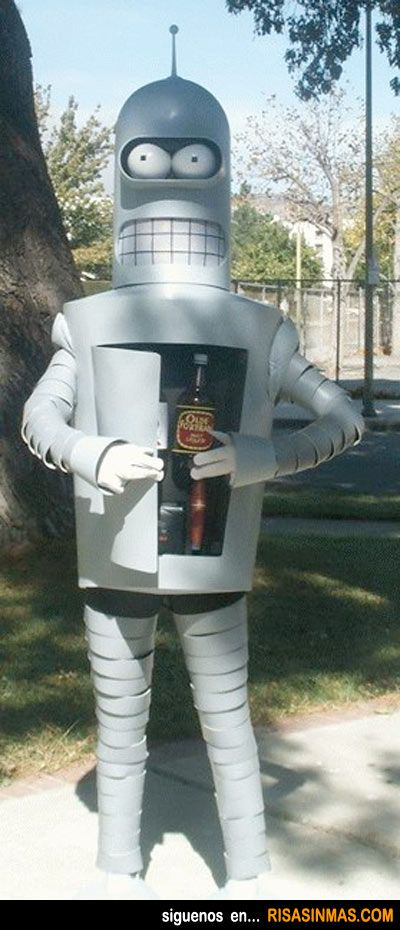 Disfraces originales: Bender.