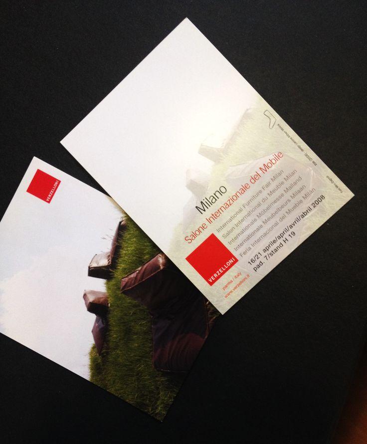 Invitation for Salone del Mobile 2008