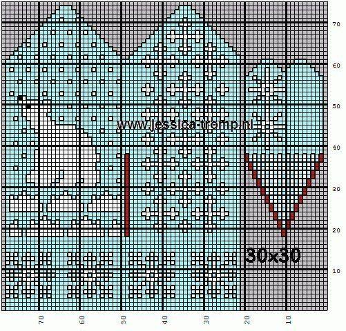 club34247407 Жаккардовые узоры для варежек вязание спицы
