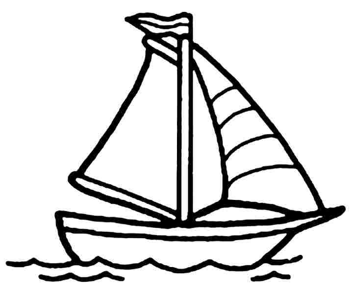Boat Coloring Sheet Boat Coloring Page Getcoloringpages Coloring Pages Minion Coloring Pages Free Printable Birthday Cards