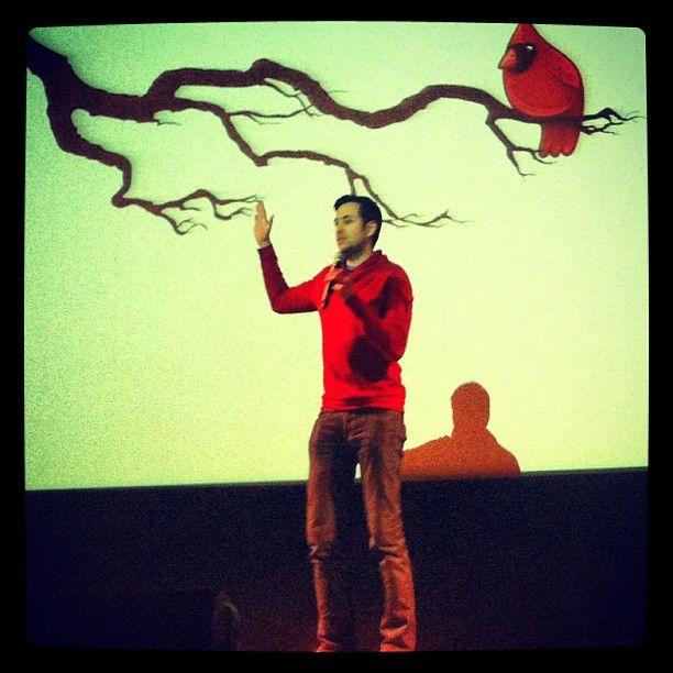 @Rand Fishkin presents during @SEOmoz' #MozCation Portsmouth on Nov. 7, 2012 on SEO.