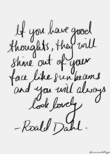 Today I'm loving, good thoughts! | Daily Dream Decor