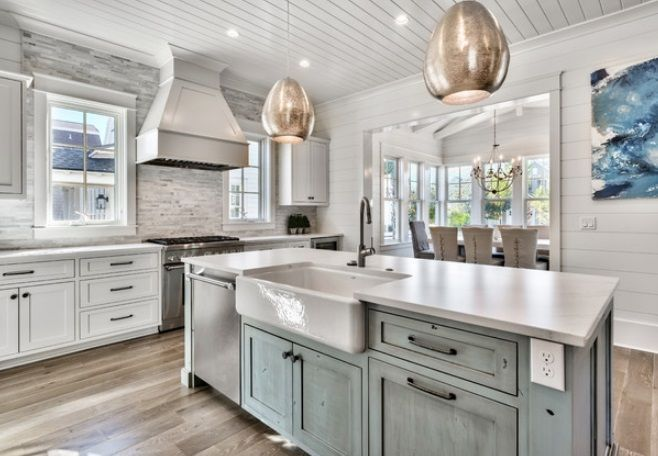 65 Beach Themed Kitchen Ideas For 2020 Beach Theme Kitchen Coastal Kitchen Decor Kitchen Decor Apartment