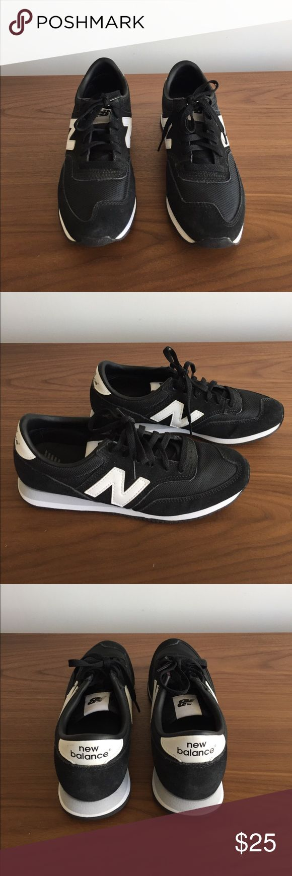 New Balance Sneakers Black with White 8 New Balance New Balance Shoes Sneakers