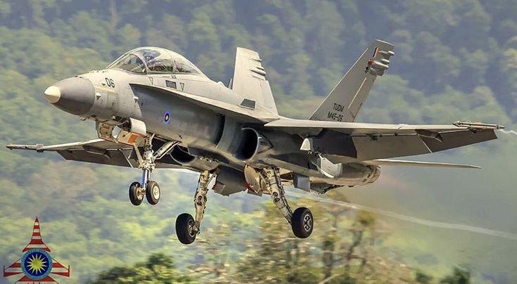 Royal Malaysian Air Force McDonnell-Douglas F/A-18D Hornet