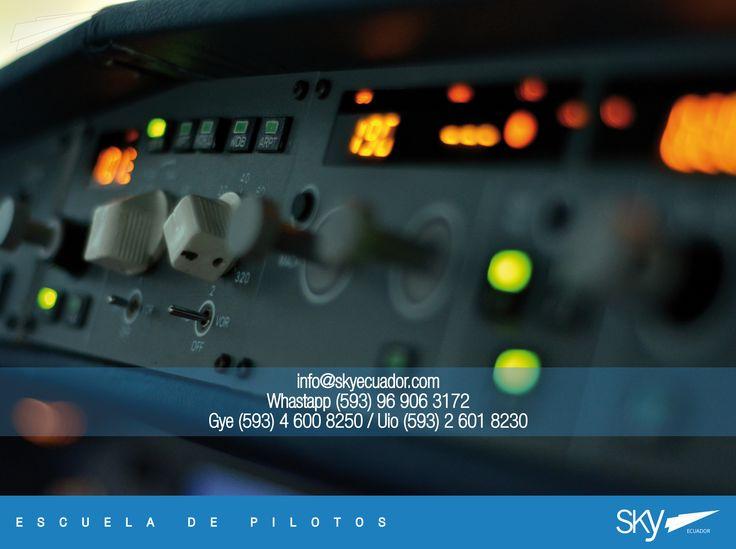 Ya conoces nuestro simulador de #Airbus 320?  Somos la única escuela en #Ecuador que cuenta con un #simulador de estas características para los alumnos que quieran formarse como #Piloto de #Aerolínea.   Necesitas información? Escríbenos a info@skyecuador.com o (0969063172 solo mensajes WhatsApp ) www.skyecuador.com 04 600 8250
