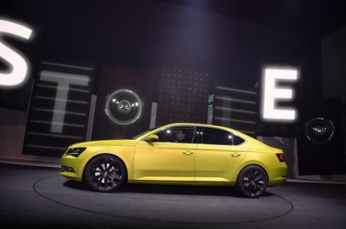 Skoda goes upmarket in Geneva with the all-new Superb.