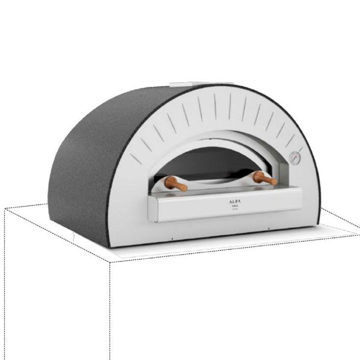 Commercial Pizza Oven, Indoor/Outdoor, Alfa Pro - Quattro Pro Top