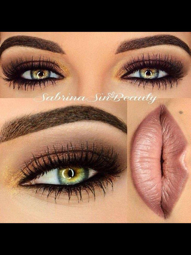 Great eye make up for green eyes