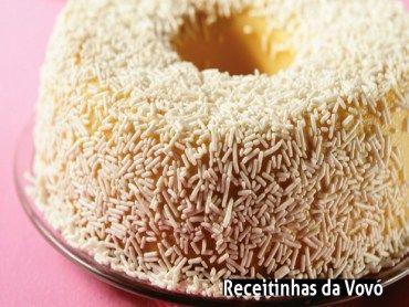 Receita Brigadeirão branco com nozes!!!  :)