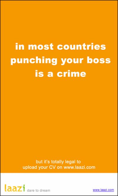 punching your boss